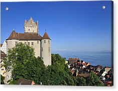 Meersburg Castle - Lake Constance Or Bodensee - Germany Acrylic Print by Matthias Hauser