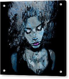 Melancholy And The Infinite Sadness Acrylic Print by Marian Voicu