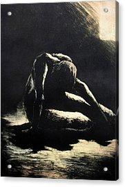 Melancholy Acrylic Print by Robert Plog