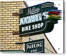 Mellow Johnny's Acrylic Print by Frank SantAgata