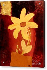 Mellow Yellow Acrylic Print by Marsha Heiken