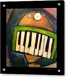Melodica Mouth Acrylic Print by Tim Nyberg