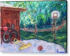 Memories 3 Acrylic Print by Sandy Hemmer