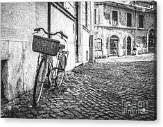Memories Of Italy Sketch Acrylic Print by Edward Fielding