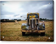 Memory Of Road Traveled Acrylic Print by Mountain Dreams