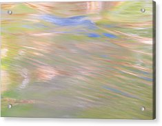 Merced River Reflections 20 Acrylic Print by Larry Marshall