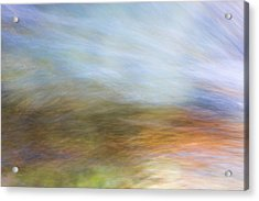 Merced River Reflections 21 Acrylic Print by Larry Marshall