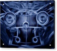 Mercedes Roadster Acrylic Print by Tom Mc Nemar