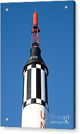 Mercury Redstone Rocket Acrylic Print by Larry Landolfi