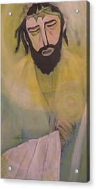 Mesiah Acrylic Print by Robert Daniels