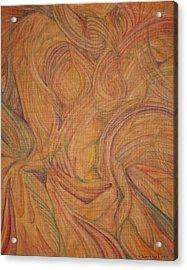 Meta Acrylic Print by Caroline Czelatko