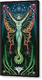 Metamorphosis Acrylic Print by Cristina McAllister