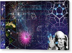 Metaphysical Gravity Acrylic Print by Kenneth Armand Johnson