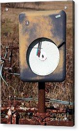 Meter Acrylic Print by Amanda Barcon