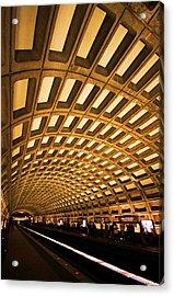 Metro Station Acrylic Print by Mitch Cat