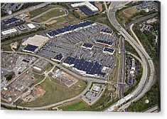 Metroplex Shopping Center Chemical Road Plymouth Meeting Pennsylvania Acrylic Print by Duncan Pearson