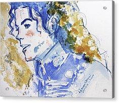 Michael Jackson - Bless You Acrylic Print by Hitomi Osanai