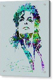 Michael Jackson Acrylic Print by Naxart Studio