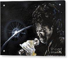 Michael Jackson Acrylic Print by Keith  Thurman