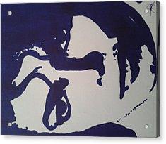 Michael Jackson Acrylic Print by Santana Dean