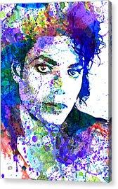 Michael Jacksons Acrylic Print by Dante Blacksmith