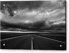 Middle Of Somewhere Acrylic Print by Thomas Zimmerman