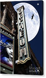 Midnight At The Orpheum - San Francisco California - 5d17991 Acrylic Print by Wingsdomain Art and Photography