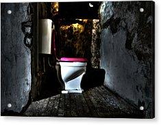Midnight Throne Acrylic Print by Scott  Wyatt