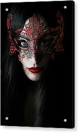 Midnight Acrylic Print by Cambion Art