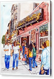 Mike's Pastry Acrylic Print by Dave Olsen