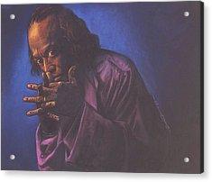 Miles Davis Acrylic Print by Curtis James