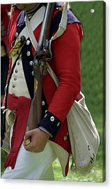 Military Uniform Revolutionary War Sideview 03 Acrylic Print by Thomas Woolworth