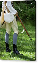 Military Uniform Revolutionary War Sideview 06 Acrylic Print by Thomas Woolworth