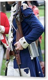 Military Uniform Revolutionary War Sideview 07 Acrylic Print by Thomas Woolworth