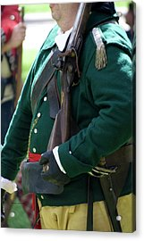 Military Uniform Revolutionary War Sideview 09 Acrylic Print by Thomas Woolworth