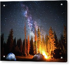 Milky Way Acrylic Print by William Church - Summit42.com
