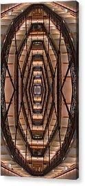 Milwaukee City Halll Atrium Acrylic Print by Scott Norris