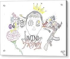 Mind Factory Acrylic Print by Devrryn Jenkins