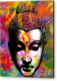Mind Acrylic Print by Ramneek Narang
