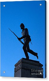 Minnesota Soldier Monument At Gettysburg Acrylic Print by John Greim