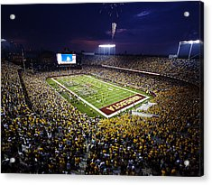 Minnesota Tcf Bank Stadium Acrylic Print by University of Minnesota