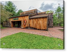 Minute Man National Historical Park Visitor Center Acrylic Print by Brian MacLean
