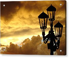 Mirage Night Sky Acrylic Print by Michael Simeone