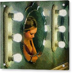 Mirror Mirror On The Wall Acrylic Print by Jeff Kolker