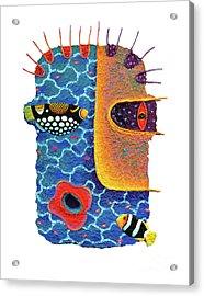 Missing The Sea Acrylic Print by Opas Chotiphantawanon