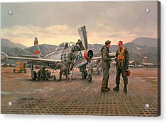 Mission From Taegu Acrylic Print by National Guard Bureau