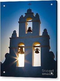 Mission Sunset Acrylic Print by Inge Johnsson