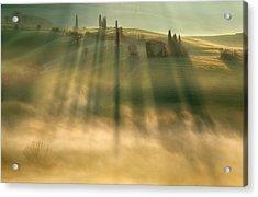 Mist Acrylic Print by Krzysztof Browko