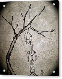 Mister Acrylic Print by Jeff DOttavio