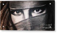 Mistic Eyes Acrylic Print by Anastasis  Anastasi